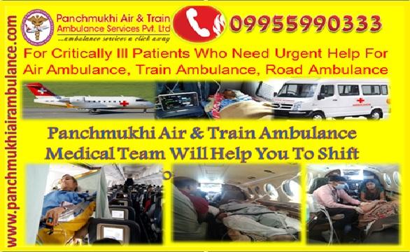 air ambulance from delhi