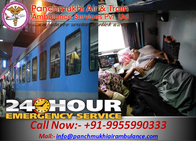 24 hours helpful train ambulance patient transfer services in India 05